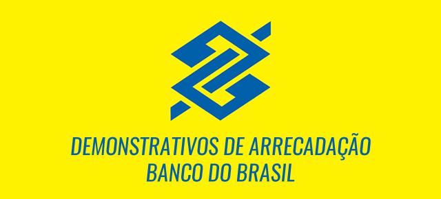 Demonstrativos de Arrecadação - Banco do Brasil